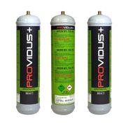 Pack de 3 bouteille argon + CO2 - 110 bars jetable - contenance 950ml- bouteille de gaz pour soudage semi automatique