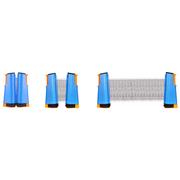 Get Go Filet & pour tennis de table enroulable bleu cobalt/orange/noir