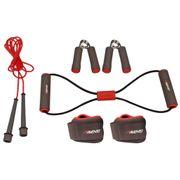 Avento Kit de fitness gris/rose/noir 41VE