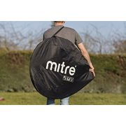 mitre But de Football Grand but Pliable Noir