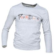 Tee Shirt Garçon Pepe Jeans John Jr Pb502224 933 Grey Marl
