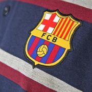 FC Barcelona officiel - Polo thème football - homme - à rayures