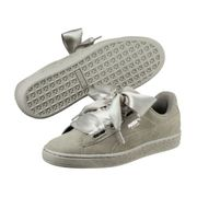 Chaussures cuir suede lacets canvas HEART PEBBLE