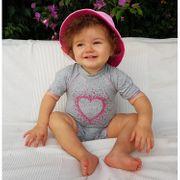 Coeur fruité Mayo Parasol Combinaison anti uv bébé fille