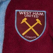 West Ham United FC officiel - Robe de chambre à capuche thème football - polaire - garçon