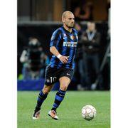 Maillot domicile Inter Milan 2010/2011 Sneijder-L