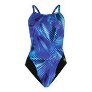 Maillot de bain Michael Phelps Mesa Mid Back bleu femme