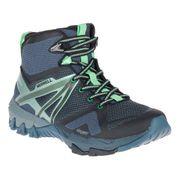 Chaussures de marche Merrell MQM Flex Mid GTX bleu vert brillant femme