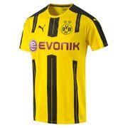 Puma Bvb Borussia Dortmund Home Replica Jaune Maillot Club Homme Football