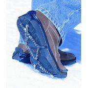 Yaktrax Walker chaînes à neige de chaussures bleu