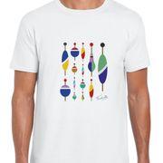 T Shirt Col Rond Imprime Mes petits bouchons