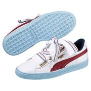 Puma Basket Heart New School Wn's Puma White- 40 EU (9 US / 6.5 UK)