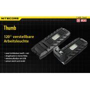 NiteCore Pouce lampe porte-clés 85 lumens