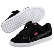 Puma Suede Heart Street 2 Wns Puma Black-Pum 36 EU (6 US / 3.5 UK)