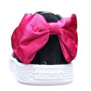 Basket Fille Puma Suede Bow Ac Ps 367318 - 04 Noir