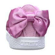 Basket Fille Puma Suede Bow Ac Ps 367318 - 05 Orchid