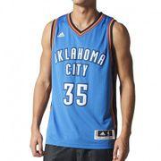 Maillot Swingman K. Durand  Oklahoma City Thunder Bleu Homme Basketball Adidas