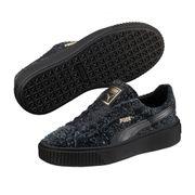 Chaussures Puma Suede Platform Elemental Noir