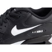Nike Air Max 90 Leather Enfant Noir