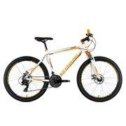 VTT semi-rigide 26'' Compound blanc-orange TC 48 cm KS Cycling