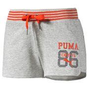 Style Athlete Femme Short Gris Puma