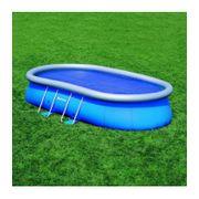 Bache été pour piscine ovale 610x366