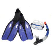Masque de plongée Set palmes navy