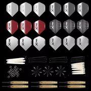 XQmax Darts Kit de fléchettes 18 g 90 pcs Pointe souple QD7000710