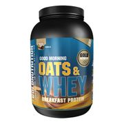 Gold Nutrition Oats & Whey Breakfast Protein saveur vanille (1 kg)