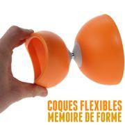 Diabolo Circus Alu de Henrys Couleur Orange