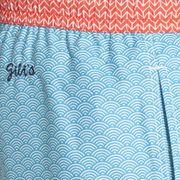 Short de bain Gilis Trawangan Turquoise Waves SHT4244YZ