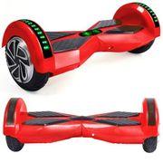 Hoverboard 8 Pouces Rouge Bluetooth+ sac de transport+ télécommande