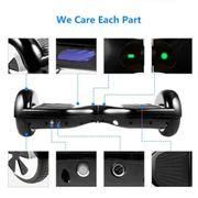 Hoverboard 6,5 Pouces Noir Bluetooth+ sac de transport+ télécommande