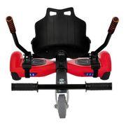 Pack Hoverboard 6,5 Rouge+ Hoverkart Noir