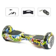 Pack Hoverboard 6,5 LED Hip Pop+ Hoverkart Noir