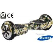 Pack Hoverboard 6,5 LED Camouflage+ Hoverkart Noir