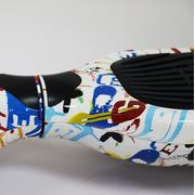 Glisse urbaine  AIR RISE Hoverboard  6,5 Pouces LED Graffiti avec Bluetooth sac de transport et télécommande