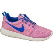 Nike Rosherun Print Wmns  599432-137 F Baskets Rose