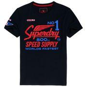 SUPERDRY 500Cc Moto T-Shirt Mc Homme