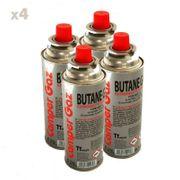 Pack de 4 cartouche gaz Camper Gaz 227gr butane  - bouteille de gaz à baillonnette 227 gr - bonbonne pour réchauds camping