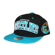 MITCHELL & NESS Snapback GRIZZLIES Noir / Turquoise