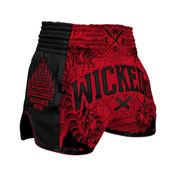 SHORT MUAY THAI WICKED ONE TIGER - taille : S