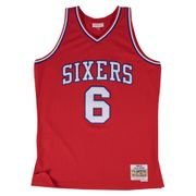 Maillot Philadelphia 76ers Julius Erving #6