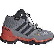 Adidas - Terrex Mid Gtx Enfants chaussures de randonnée (gris/rouge)