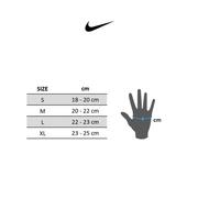 Gants Nike Extreme Fitness jaune fluo gris