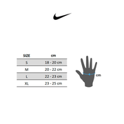 Gants Nike Ultimate Fitness noir gris