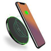 Chargeur QI sans fil- CH - 487 chargeur sans fil rapide pour iPhone / Samsung