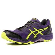 Gel FujiTrabuco 5 G-TX Femme Chaussures Trail Violet Asics