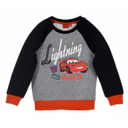 Sweat enfant Cars disney  noir nouvelle collection Taille 3 é 8 ans - 3 ans gris