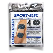 Electrodes adhésives sans fil Sport-Elec Electrostimulation